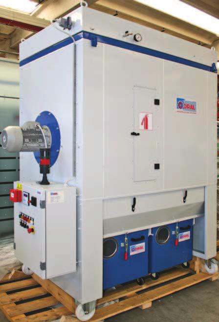 ipari elszívó légtisztító tömlős szűrővel berendezés foxer szűrő vezérlés motorindító tűzoltó rendszer