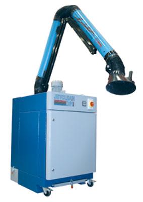 elszívó berendezés elszívókar ipari hegesztés jetclean mobilgép légtisztító foxer